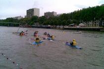 Match de kayak polo
