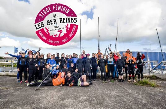 Photo - KAYAK AU FEMININ: Stage féminin les Sea Reines du 19 au 21 mai 2017