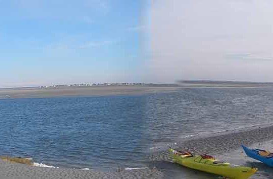 Photo - Kayak de mer en Baie de Somme